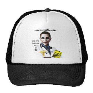 OBAMA HEALTH CARE TRUCKER HATS