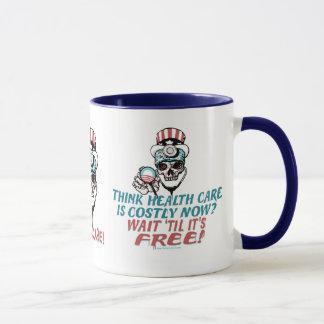 Obama Health Scare Gear by YesPoliticsSuck Mug