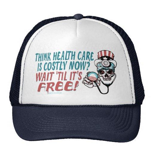 Obama Health Scare Gear by YesPoliticsSuck Trucker Hat