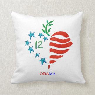 Obama Heart 2012 pillow