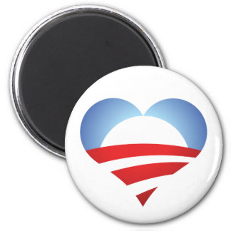 Obama Heart Magnet