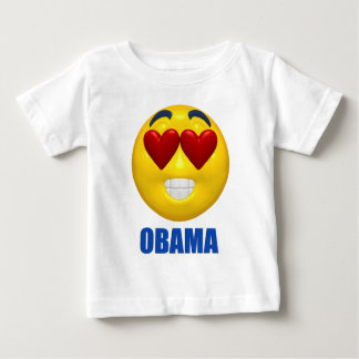 Obama Heart Smiley Face T Shirt