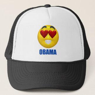 Obama Heart Smiley Face Trucker Hat