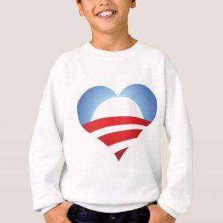 Obama Heart Sweatshirt