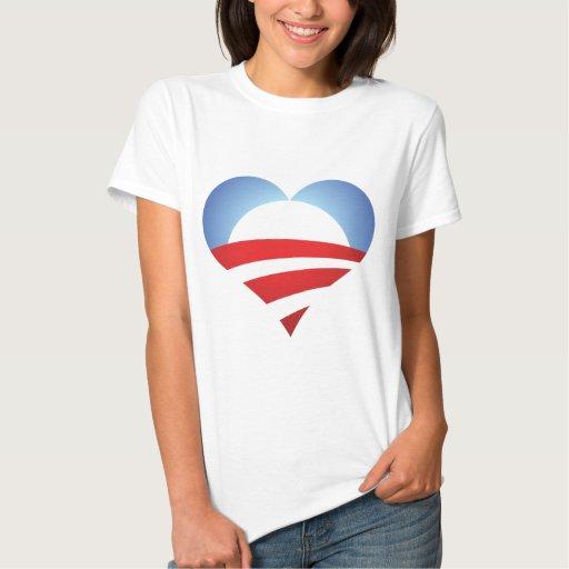 Obama Heart T-shirt