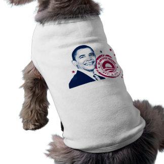 Obama - hecho en los E E U U Camiseta De Perro
