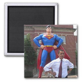 Obama-Hero 2 Inch Square Magnet