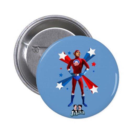 Obama Heroic 2 Inch Round Button