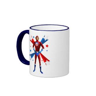 Obama Heroic Ringer Mug