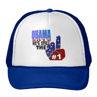 OBAMA, He's Still the One Trucker Hat