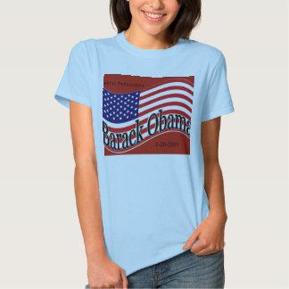 """Obama """"hicimos sí"""" camiseta playera"""