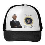 Obama hicimos sí - gorra de béisbol