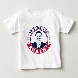 Obama hicimos sí otra vez el color V1 Polera