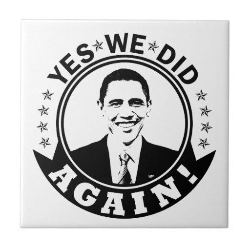 Obama hicimos sí otra vez V1 BW Teja