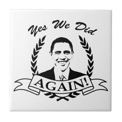 Obama hicimos sí otra vez V2 BW Teja