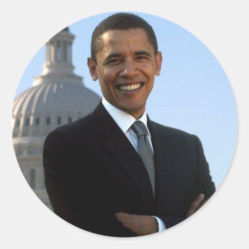¡Obama hicimos sí! Pegatina