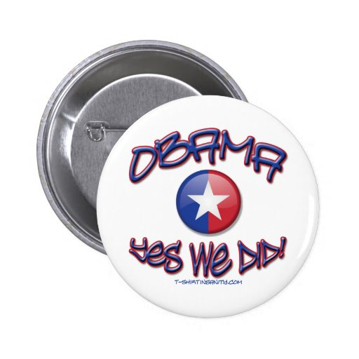 Obama hicimos sí pins