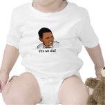 ¡obama, hicimos sí! trajes de bebé