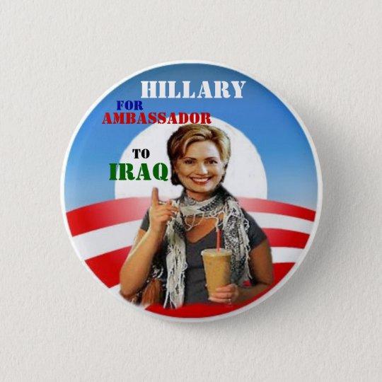 Obama/Hillary Button