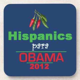 Obama HISPANICS Drink Coaster