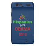 Obama HISPANICS Motorola Droid RAZR Case
