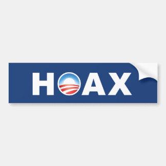 Obama HOAX Bumper Stickers