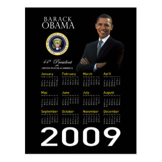Obama Holiday Postcard for Business