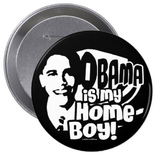 Obama Homeboy 2008 Button