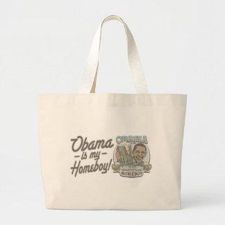 Obama Homeboy Beer Gear Large Tote Bag
