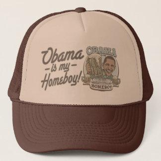 Obama Homeboy Beer Gear Trucker Hat