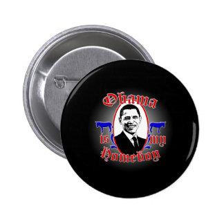 Obama_Homeboy_Mag2 Pinback Button