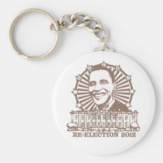 Obama Homeboy Re-Election 2012 Gear Keychain