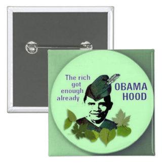Obama Hood Square Button