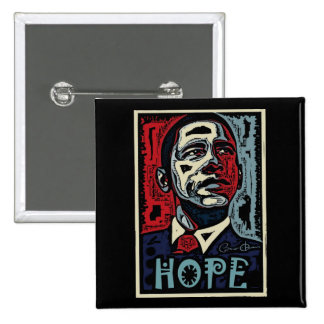 Obama Hope 2 Pinback Button