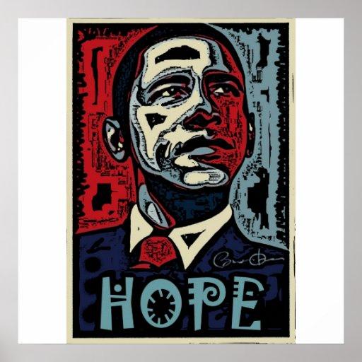 Obama Hope 2 Print
