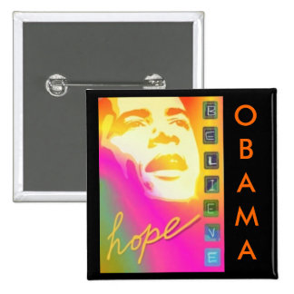 Obama hope believe Button