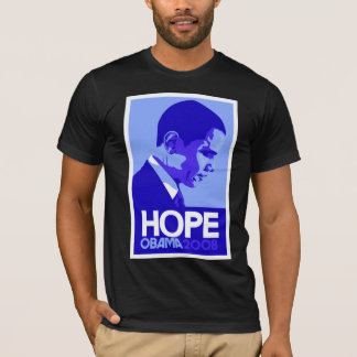 Obama - Hope:Blue T-Shirt