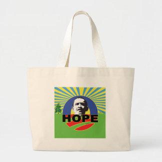OBAMA HOPE CANVAS BAG