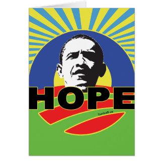 OBAMA HOPE CARD