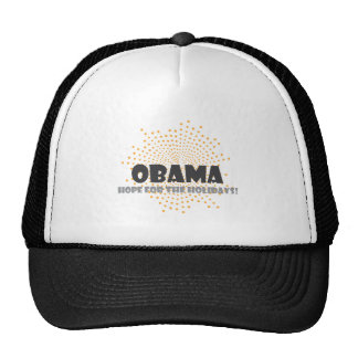 OBAMA-HOPE TRUCKER HAT