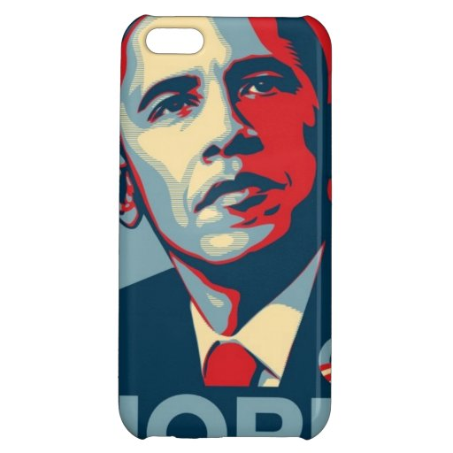 Obama Hope Image Case For iPhone 5C