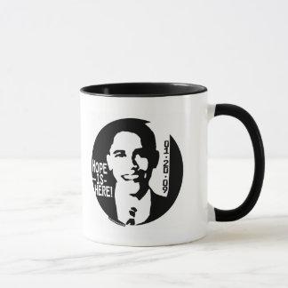 Obama Hope is Here 2009 Gear Mug