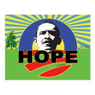 OBAMA HOPE POST CARDS