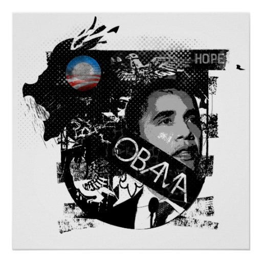 Obama: Hope Poster by Ryan