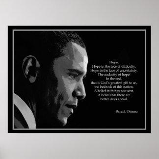 Obama-Hope-Poster Poster
