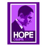 Obama Hope Purple Post Cards