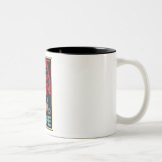 Obama Hope Two-Tone Coffee Mug