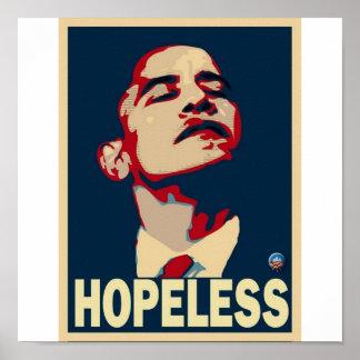 Obama Hopeless Poster