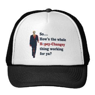 Obama  Hopey Changey Mesh Hat