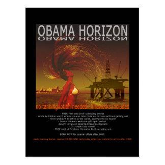 OBAMA HORIZON POSTCARD